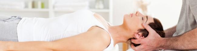 Cure frozen shoulder with neck adjustments