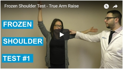 frozen shoulder test